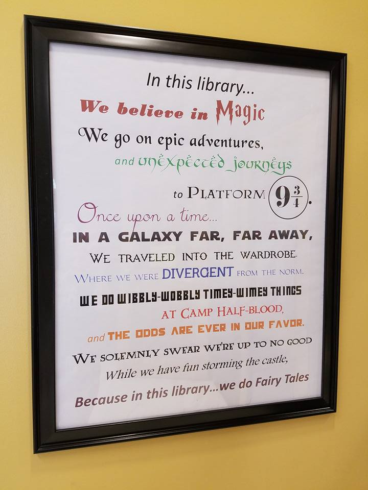 In This Library verse