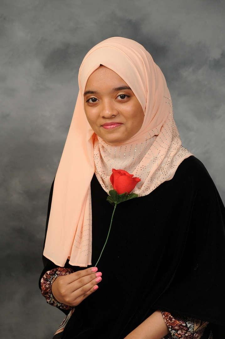 Senior Portrait of Tanzifa Akther