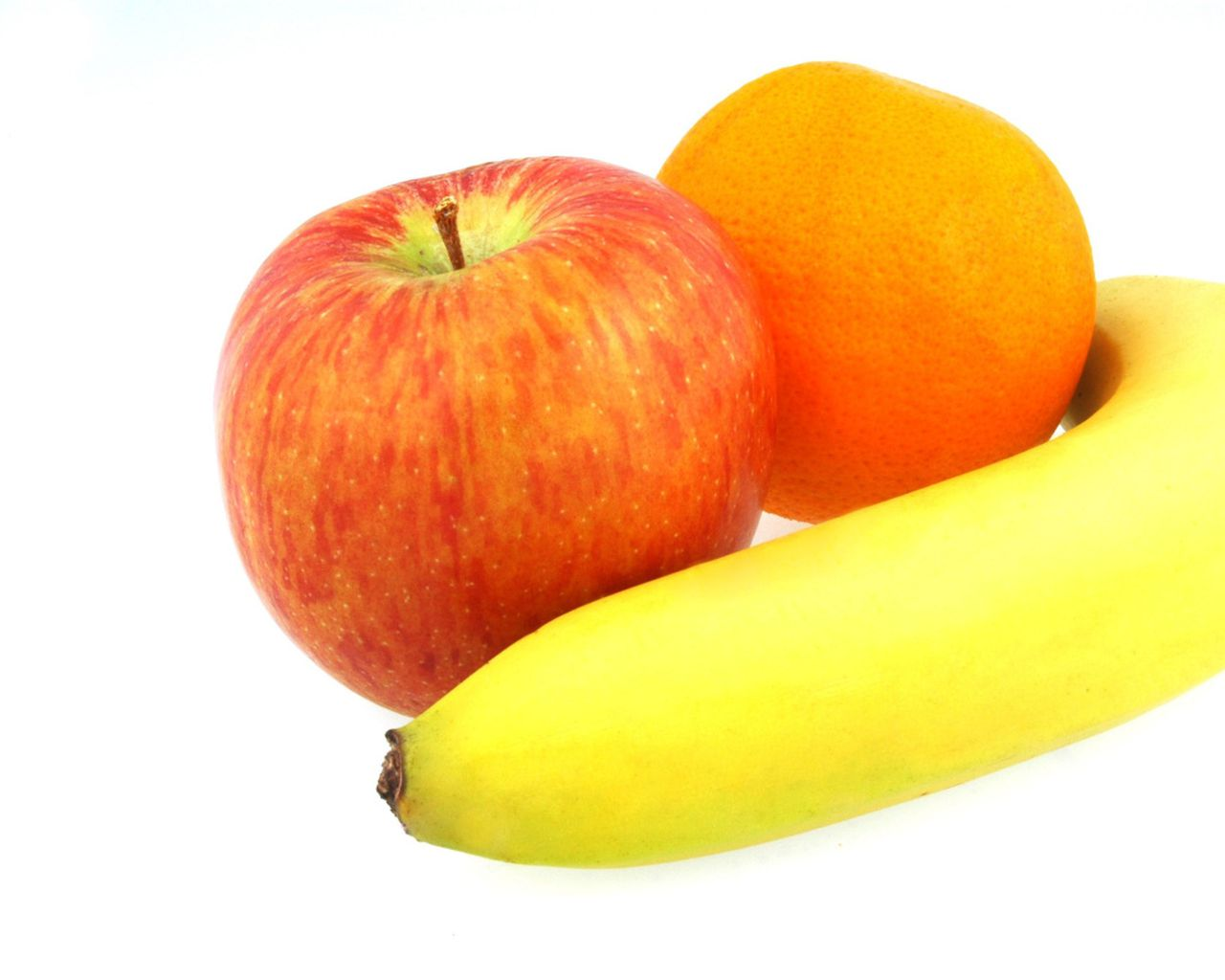 apple, banana & orange