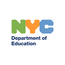 NYC DOE logo in color and without the chancellor's name
