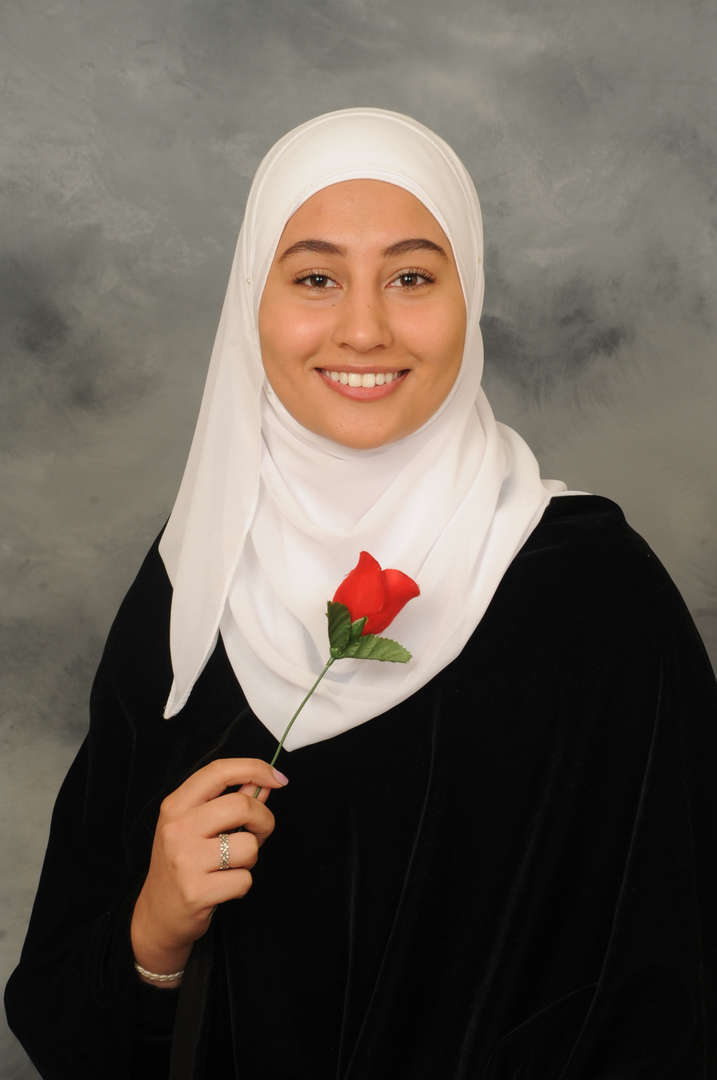 Senior Portrait of Amal Kharoufeh