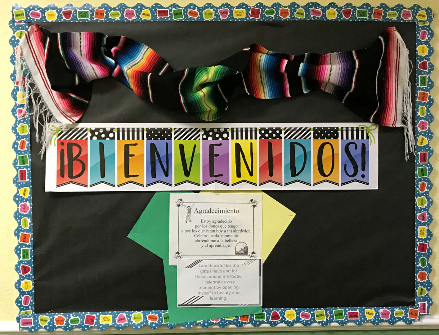 Spanish display