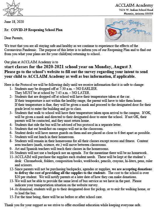 Covid19 Reopening Plan English