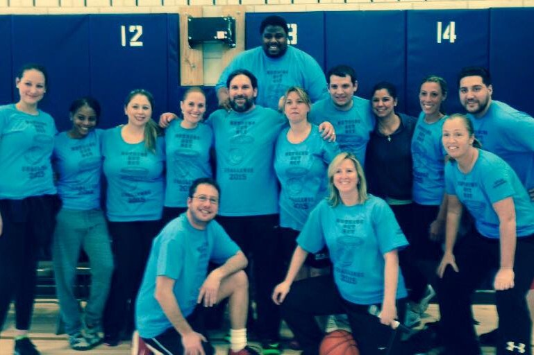 Staff Basketball Team