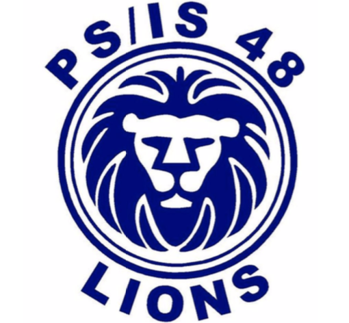 PS/IS 48 Lion Logo