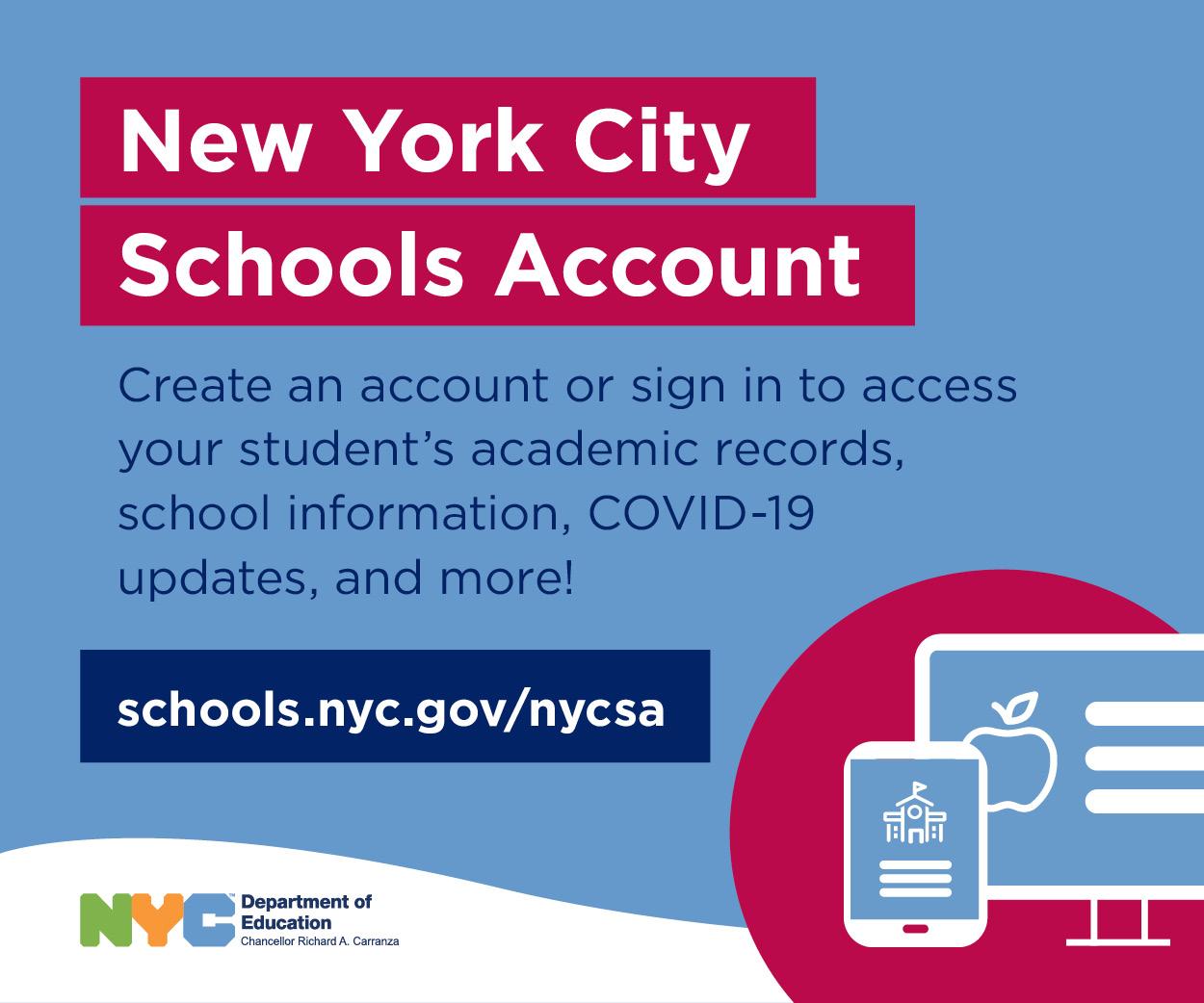 New York City School Account Logo