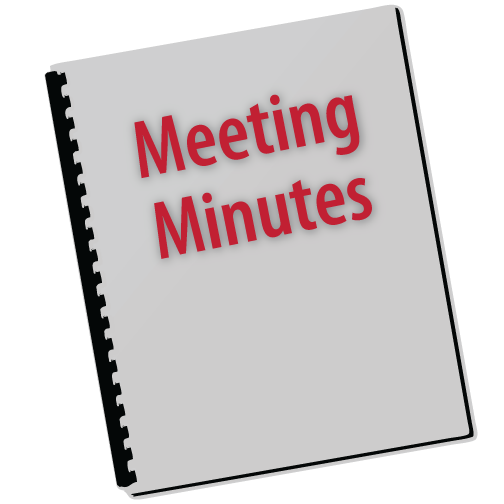 Meeting Minutes Sign
