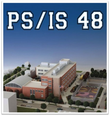 Drawing of PS/IS 48 Building