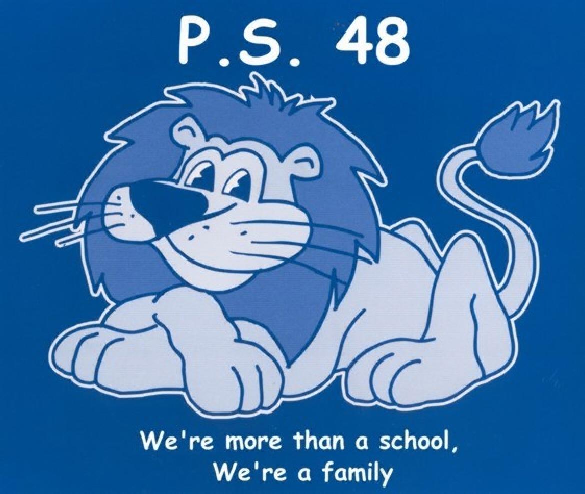 PS 48 Lion Logo