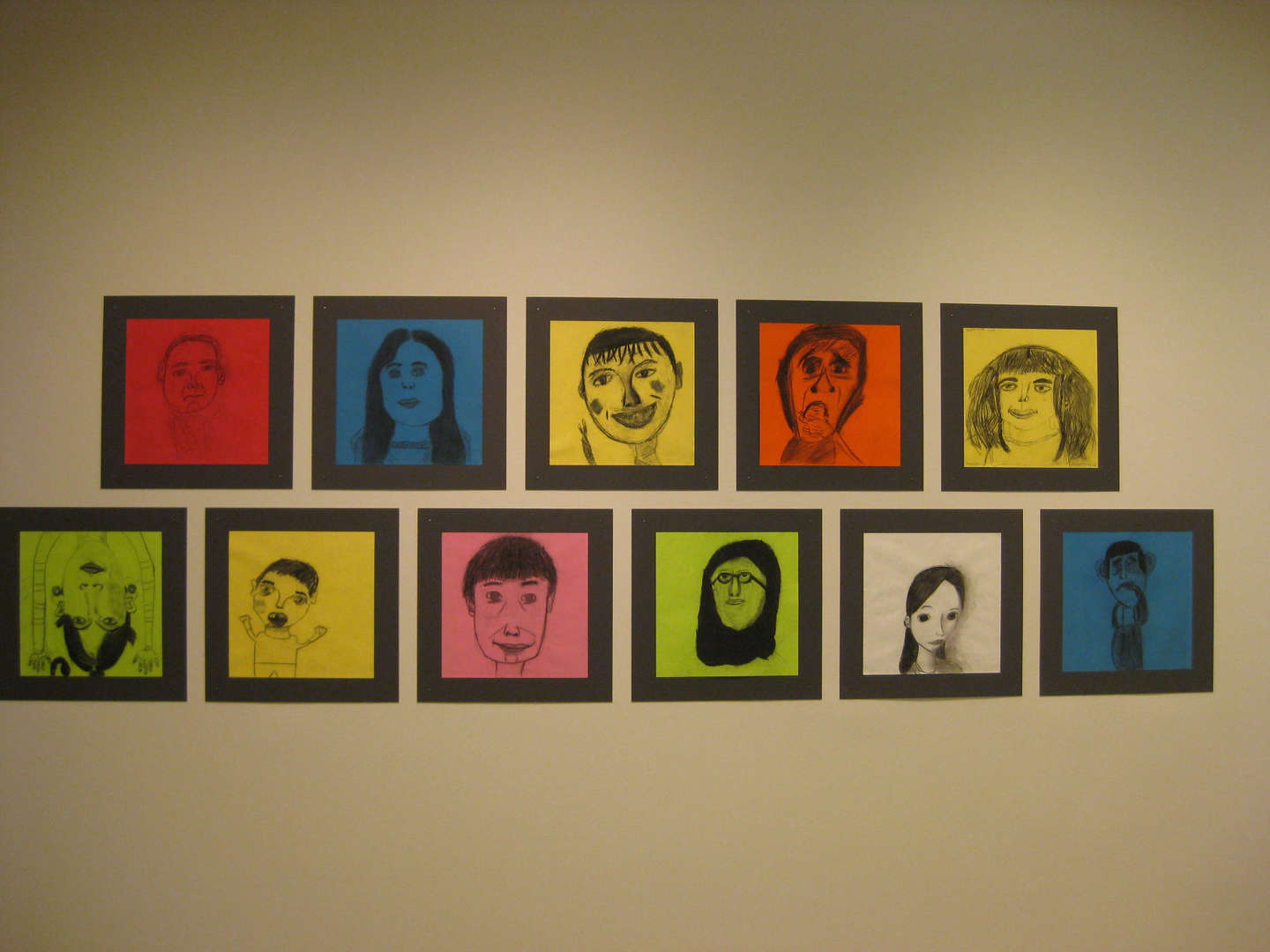 Self Portraits displayed from Guggenheim Residency Program