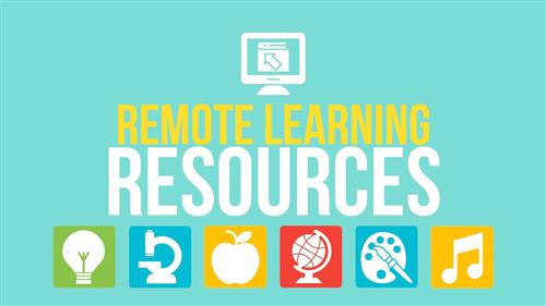 Remote Learning Resources Icon