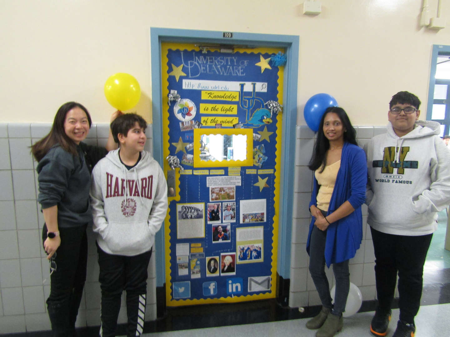 Class 621 won for Most School Spirited for University of Delaware