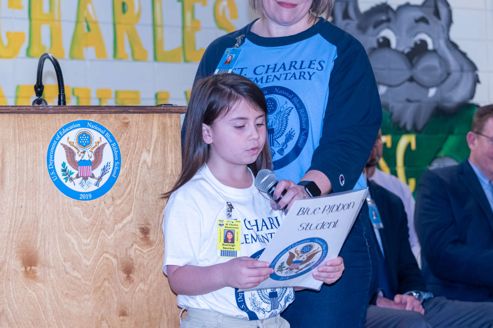 Blue Ribbon Award Ceremony