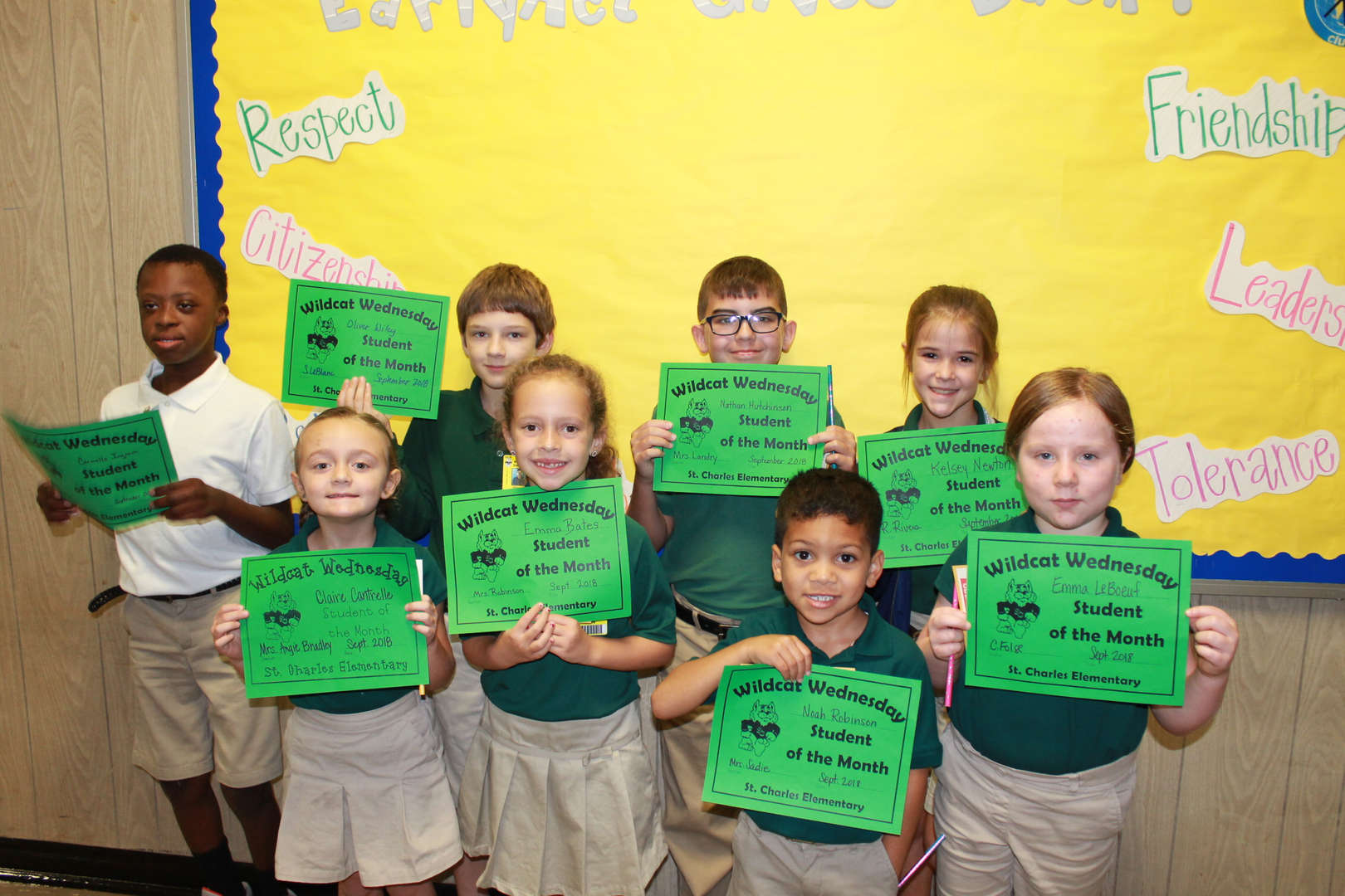 Student of the Month - September