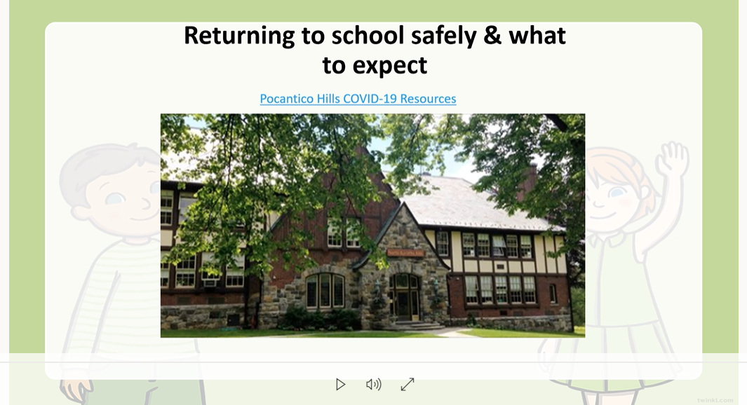 Link to Return to School Safety Video