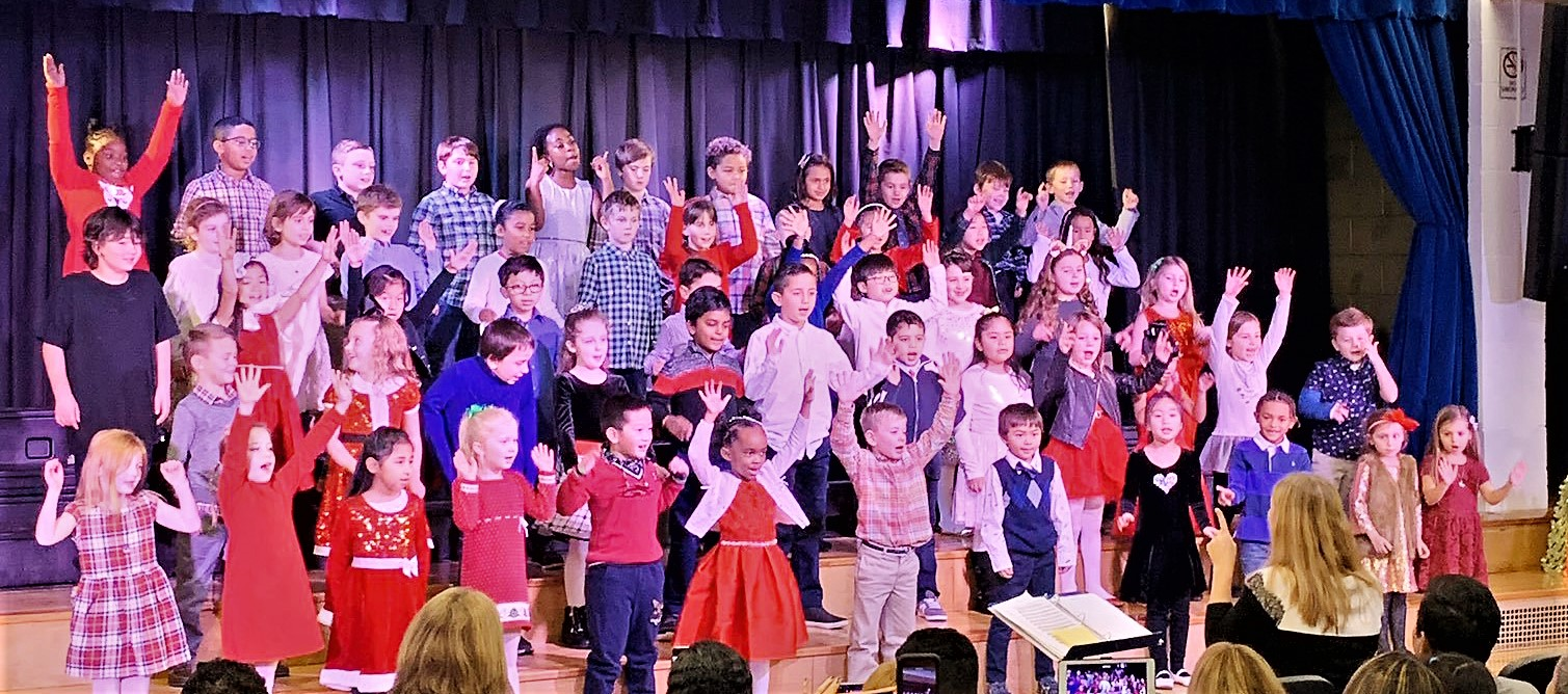 Winter Concert, first and second grades.