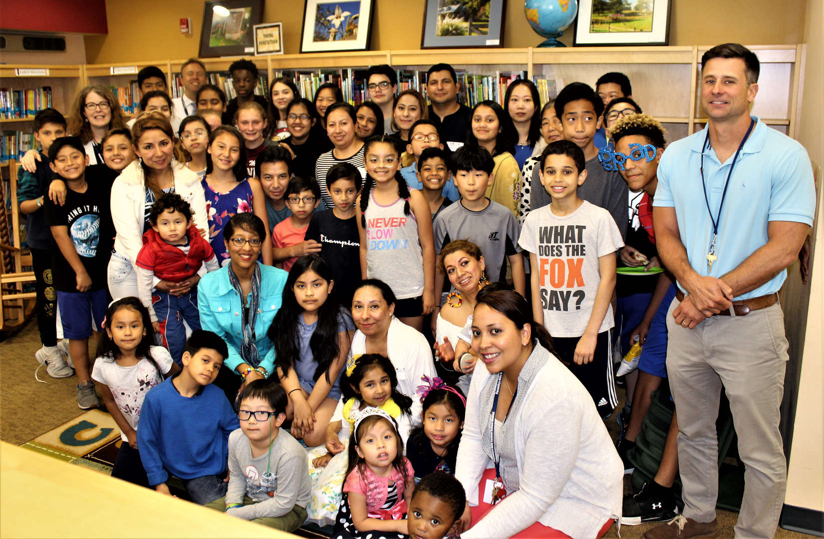 English language learners and their families at a June 14 luncheon.
