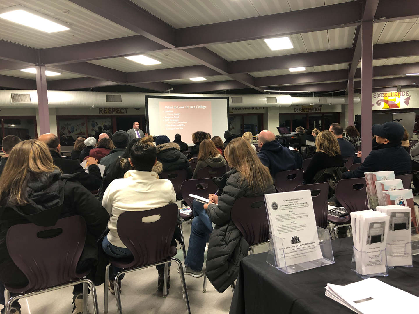 Junior Parent Night Jan 2019