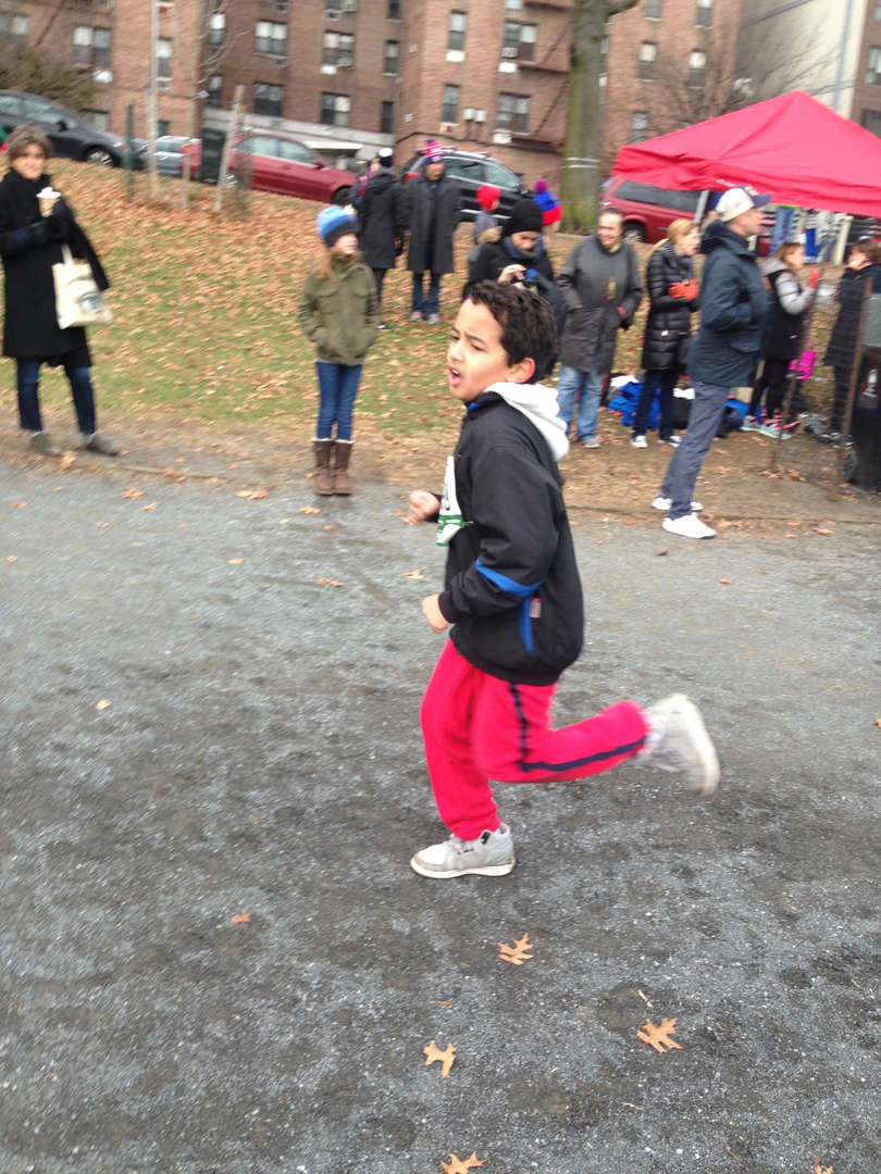 Young Runners Fred Lebow Meet at Van Cortlandt Park November 20th