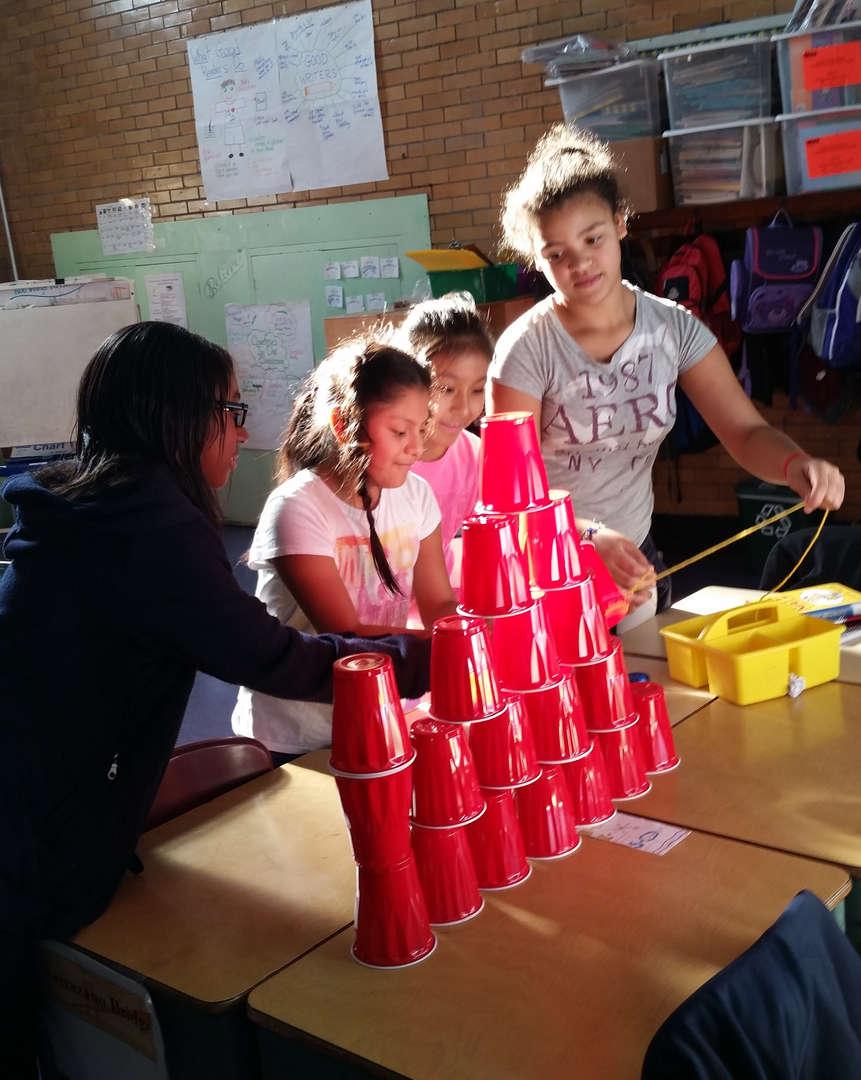Grade 5 Team Builders Club