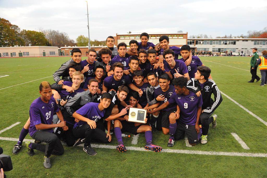NRHS boys varsity soccer