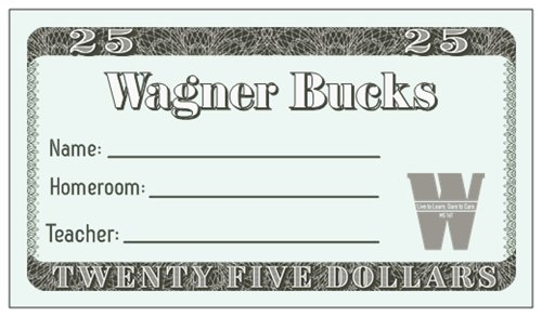 $25 Wagner Buck