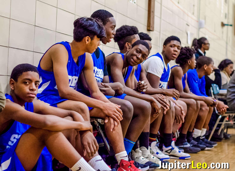 Basketball Team Sidelines
