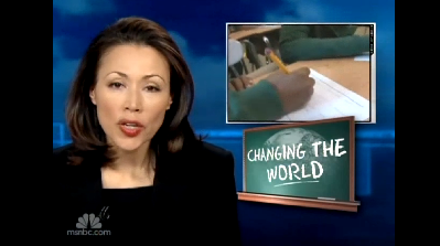 Ann Curry reporting on SGL