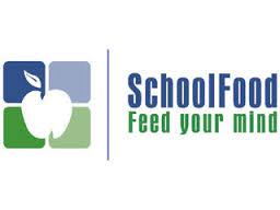 "School Food logo ""Feed Your Mind"""