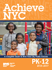 Achieve NY logo with link to information about NYC public schools.
