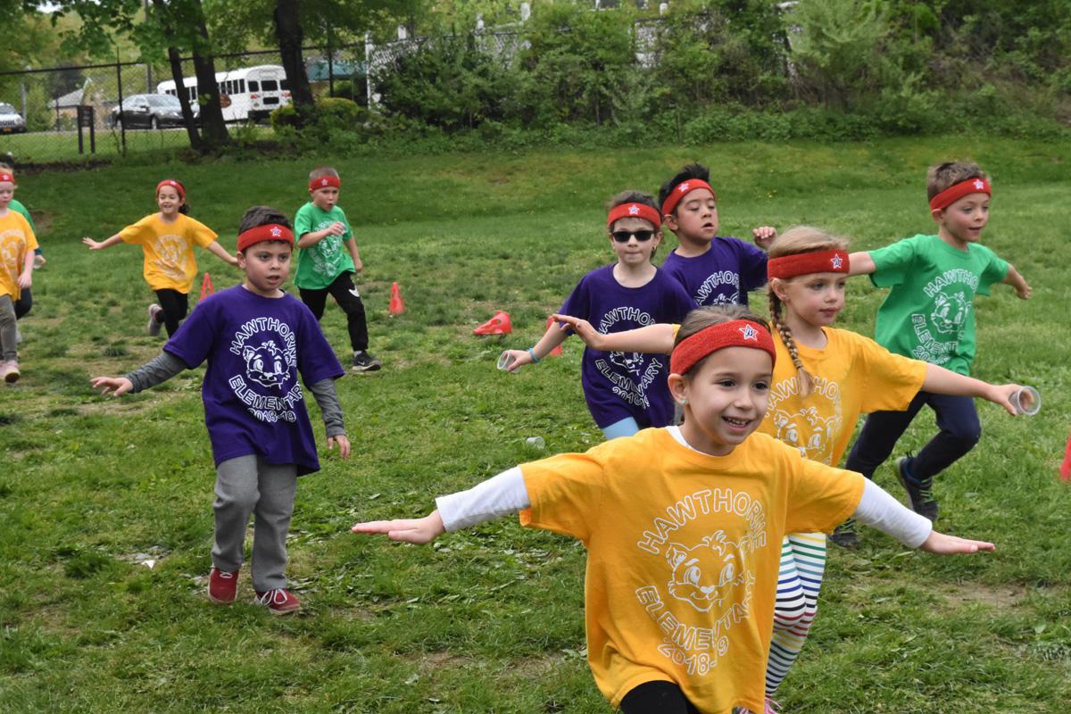 Elementary students participate in Fun Run