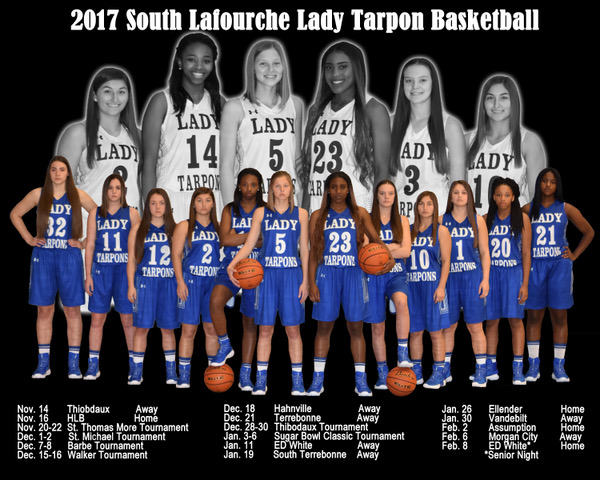 Girls Basketball 2017-2018 Poster