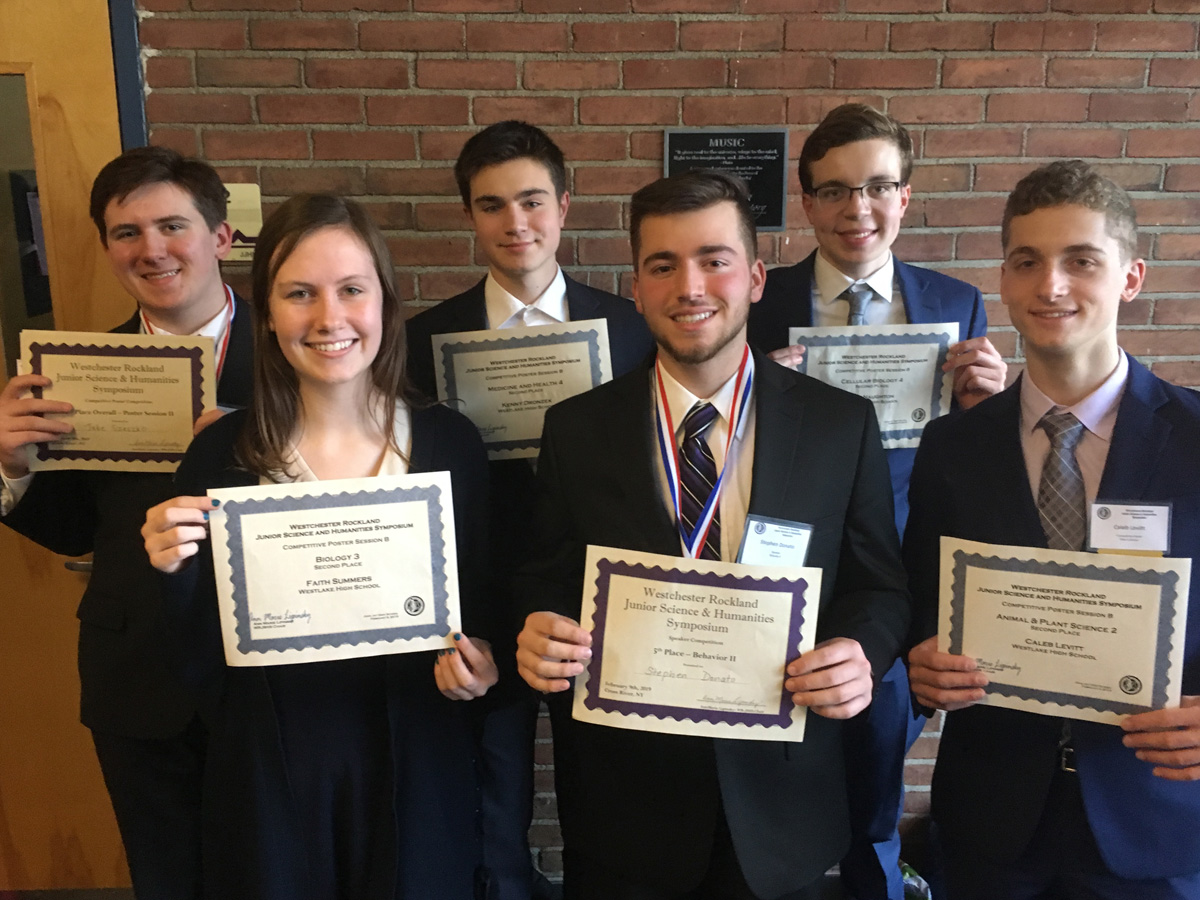Science Research students win awards.