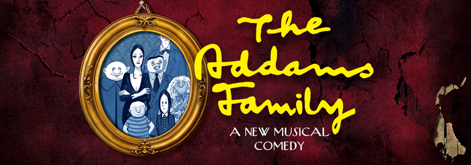 """The Westlake Players present """"The Addams Family."""" Performancesare March 29, 30 at 8:00 pm., March 31 at 1:00 pm., April 5 and April 6 at 8:00 pm."""