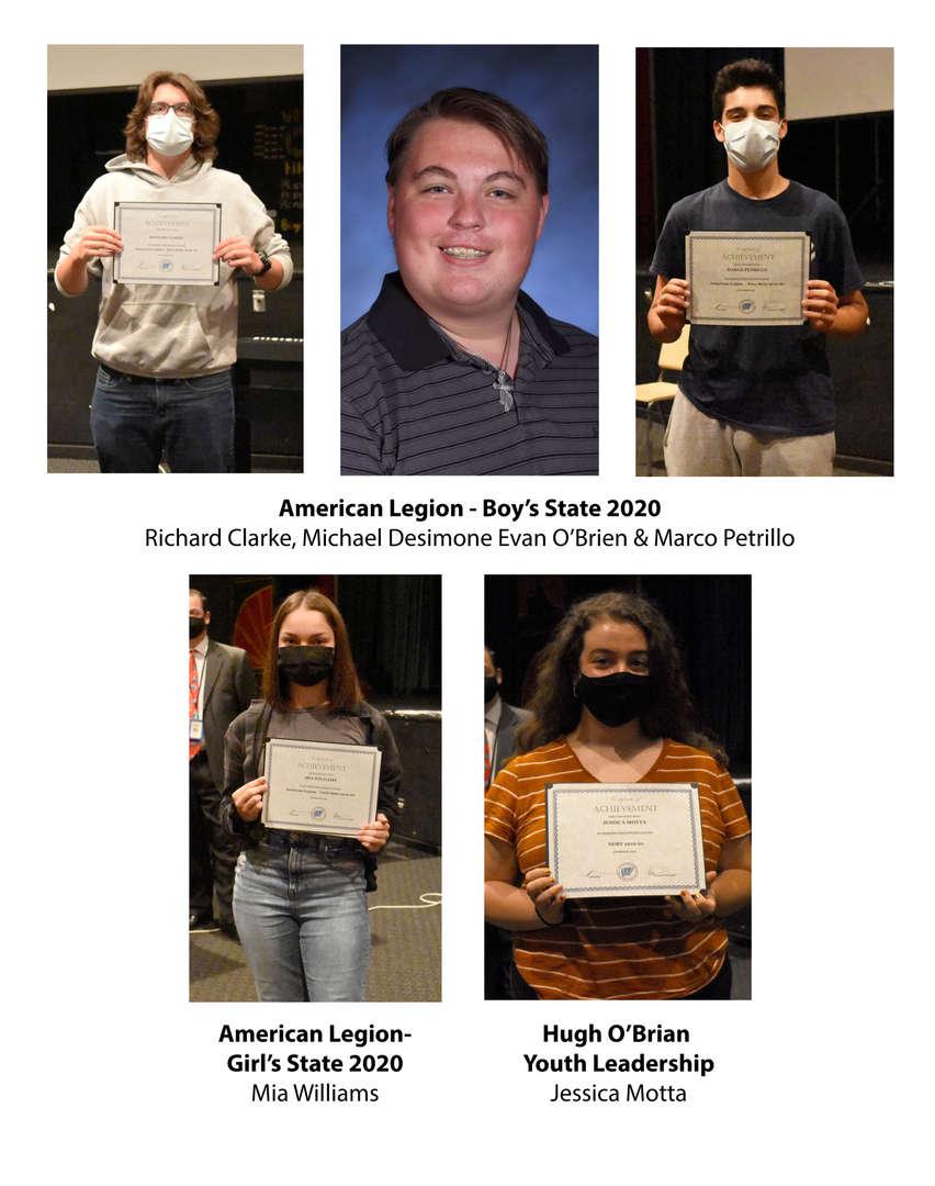 5 students won leadership awards