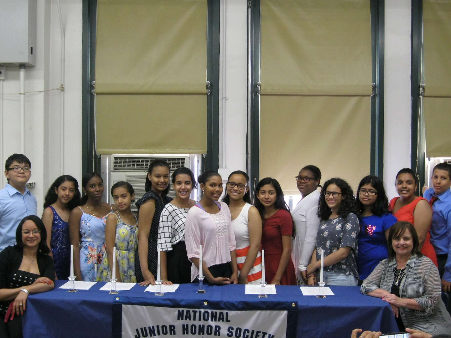 The Mott Hall School Junior National Honor Society