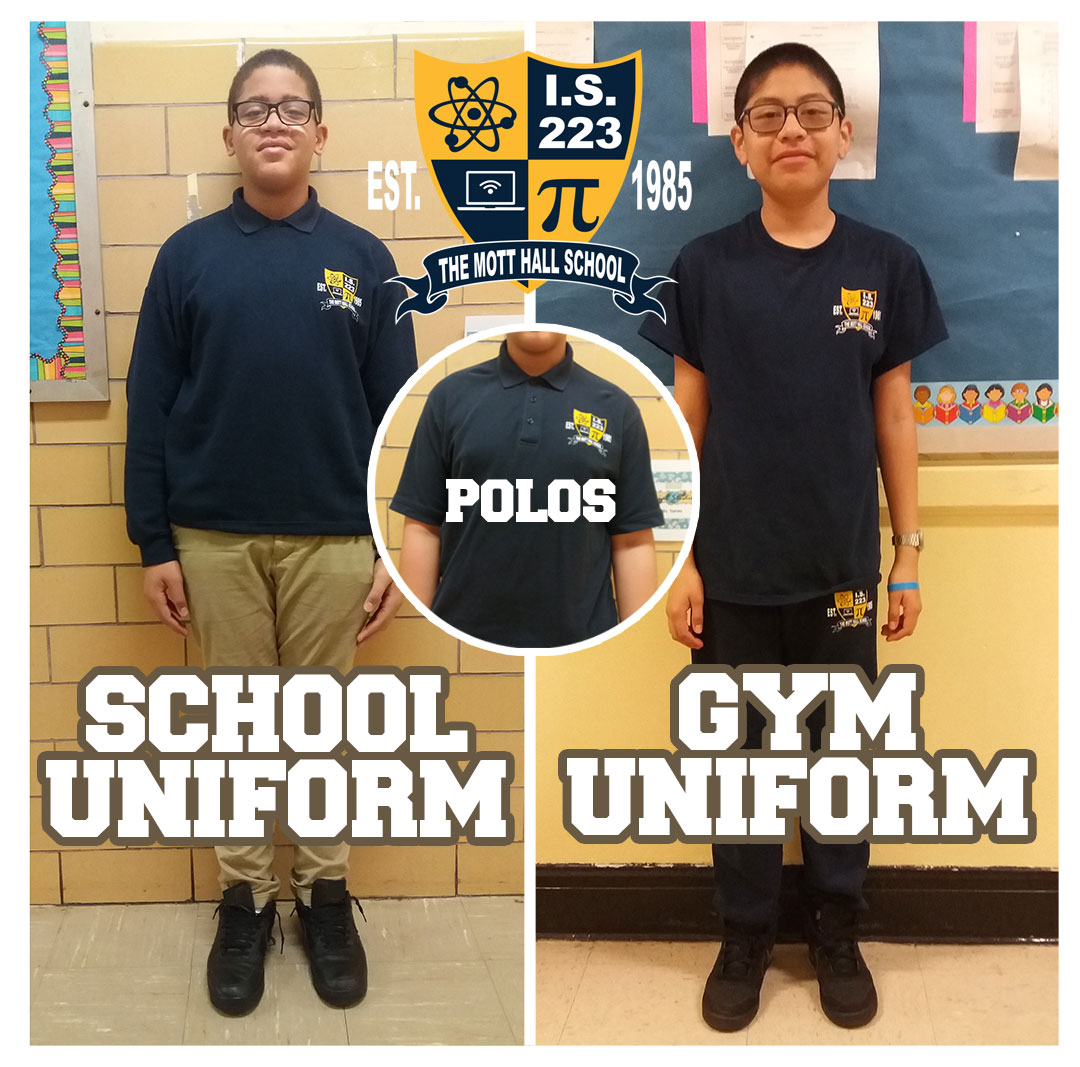 STUDENTS WEARING MHS UNIFORM EXAMPLE