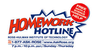 Homework Hotline Link