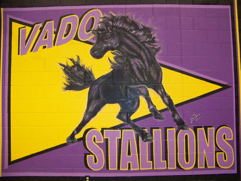 Vado Elementary School logo - Stallions