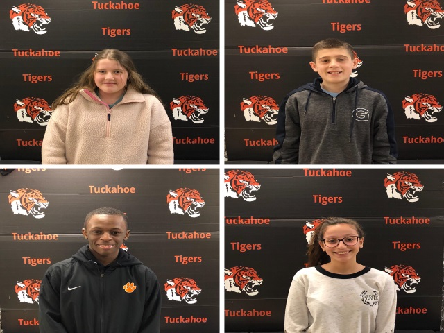January 2019 Tuckahoe Athletes of the Month
