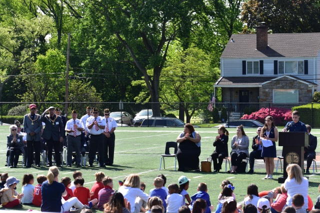 Tuckahoe Students Reflect and Remember at the annual Memorial Day Commemoration.