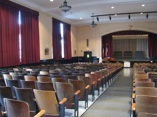 A view of our auditorium