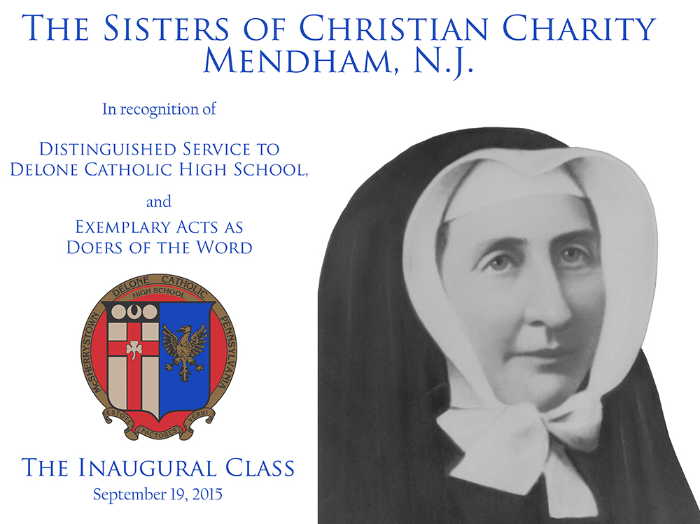 Sisters of Christian Charity Plaque
