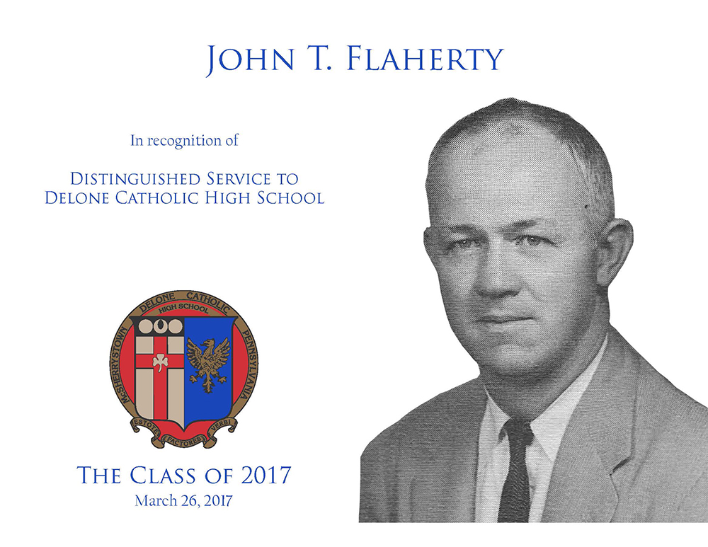 John T. Flaherty Plaque