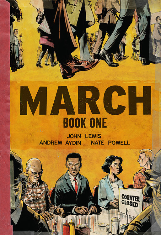 The incredible John Lewis, Civil Rights Hero and Presidential Medal of Freedom Recipient, recounts his journey as a young man fighting against segregation in this award-winning three-part graphic novel series!