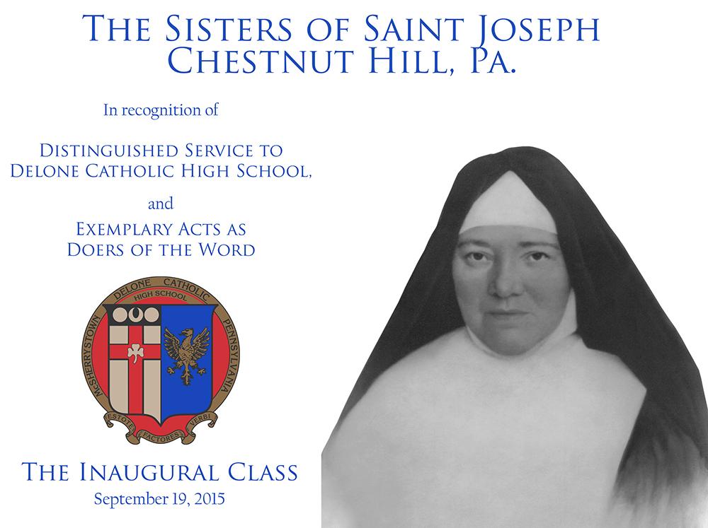 Sisters of Saint Joseph Plaque