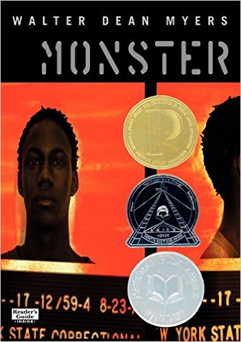 """Steve Harmon, a 16 year-old facing charges for accessory to murder, has been called a """"Monster"""" by prosecutors. As he awaits trial, Steve imagines his plight in movie form as a way of processing his dire situation. As events unfold, the reader is asked: is Steve a monster? Or was he wrongfully accused?"""