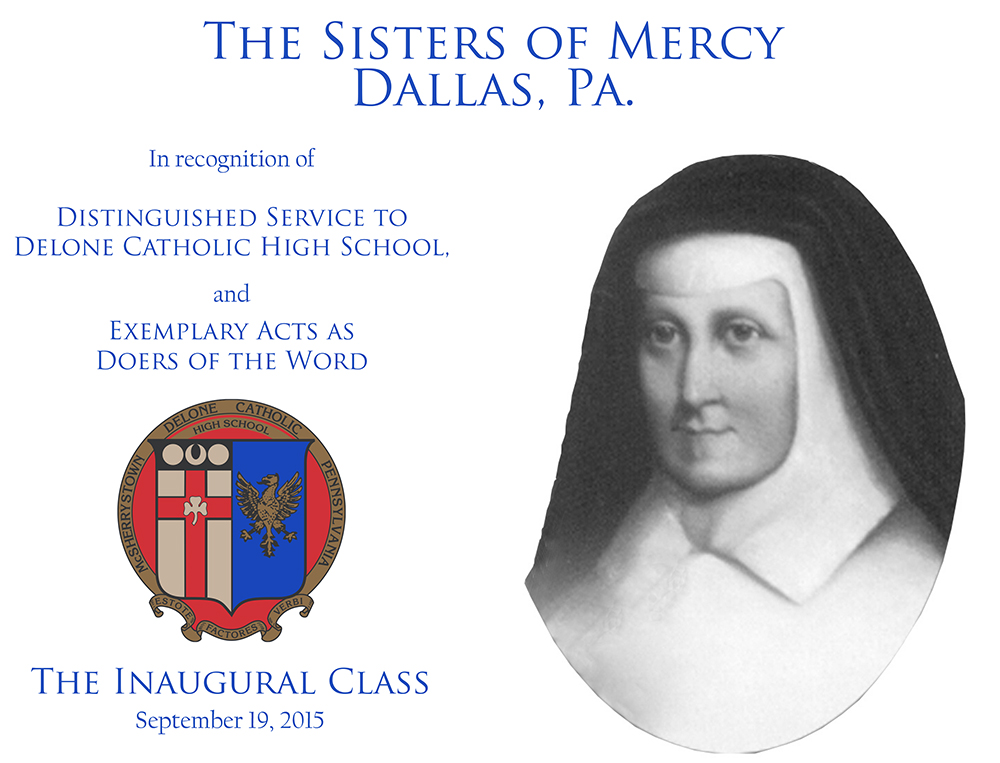 Sisters of Mercy Plaque