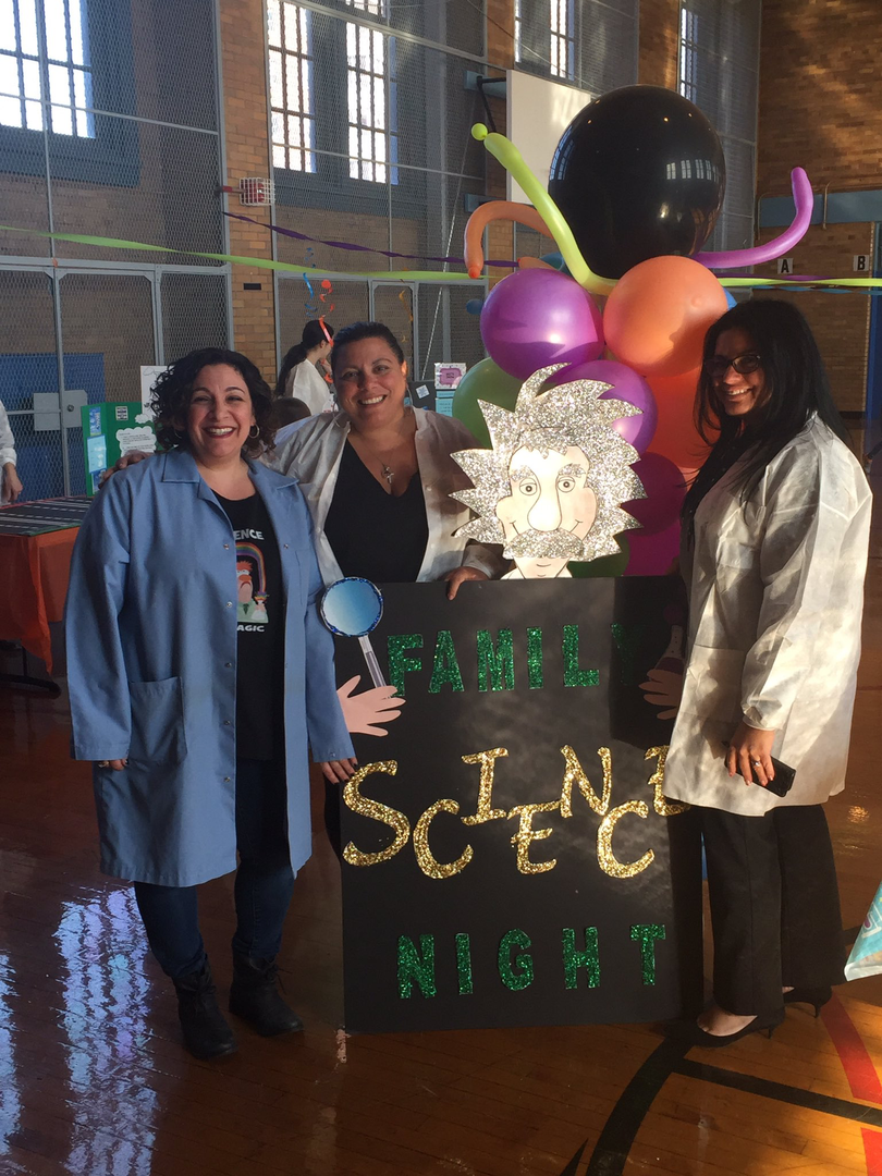 science night staff picture