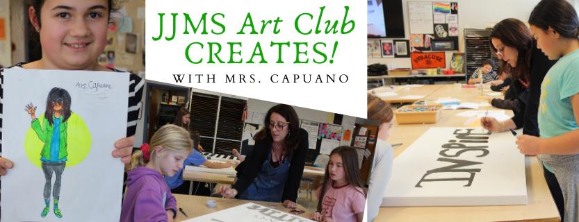 JJMS Art Club Creates!